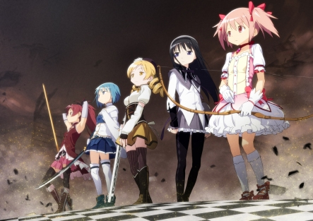 Puella-Magi-Madoka-Magica-group-anime-artwork-9