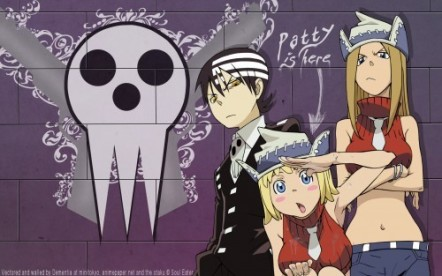 death-the-kid-with-the-thompson-sisters-soul-eater-9613398-500-313