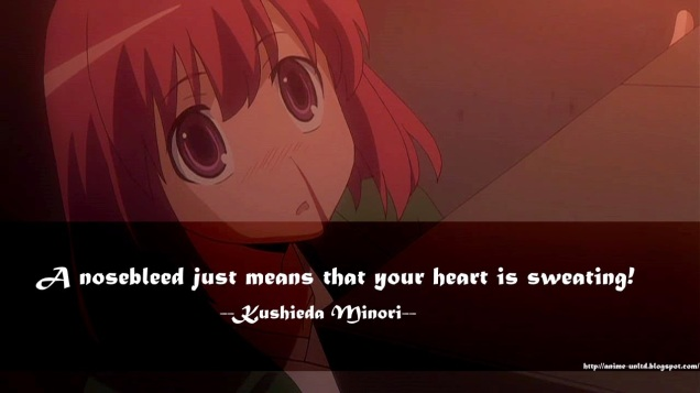 Image result for toradora minori quotes